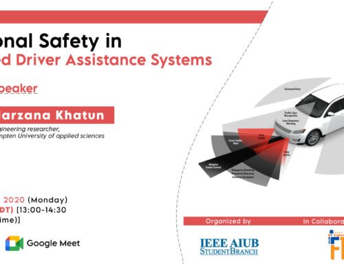 'Functional Safety on Advanced Driver Assistance System Webinar'
